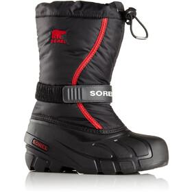 Sorel Flurry Boots Barn black/bright red